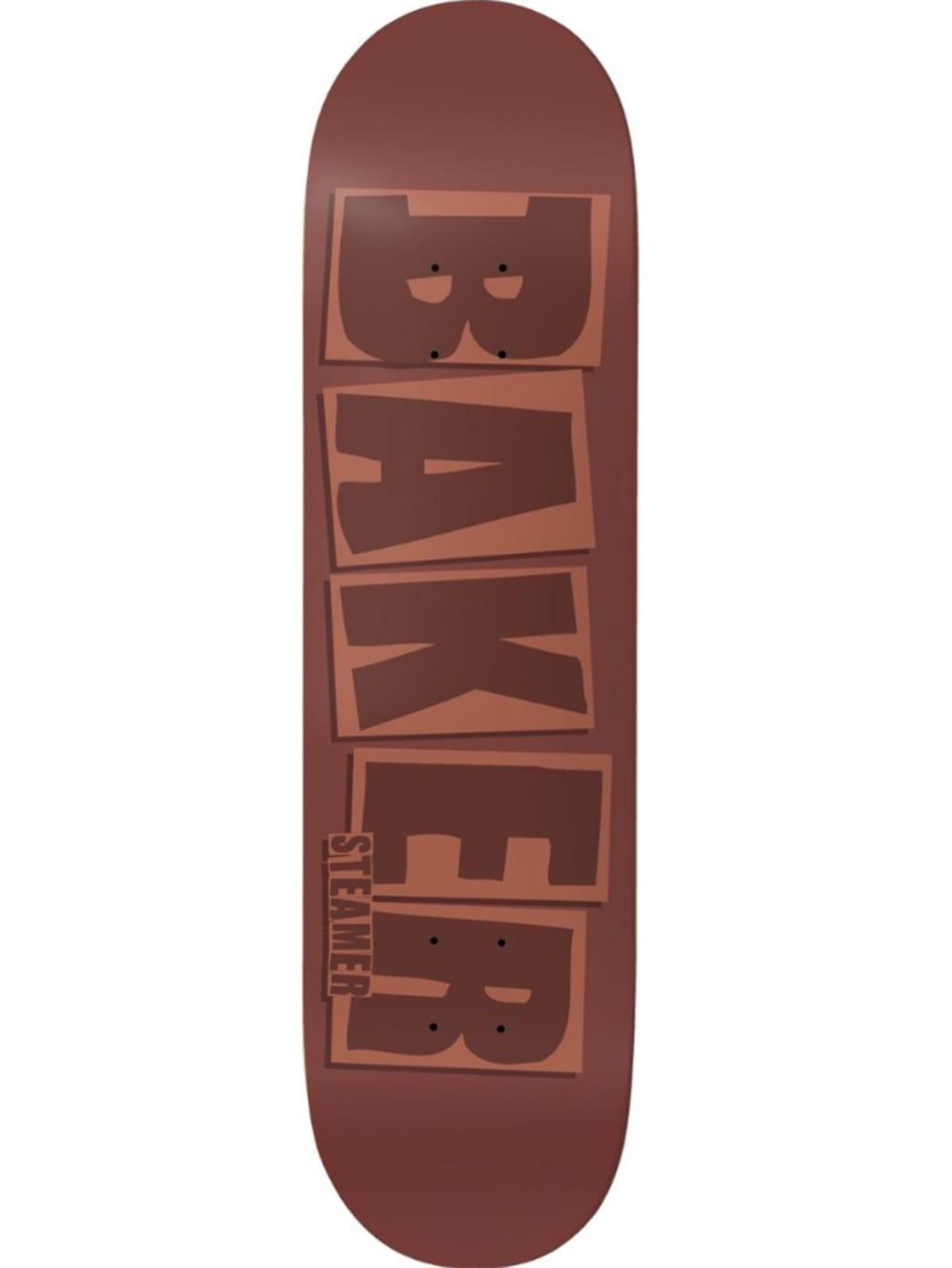Baker Steamer Brand Name Brick Deck 8.125 | Deck by Baker Skateboards 1