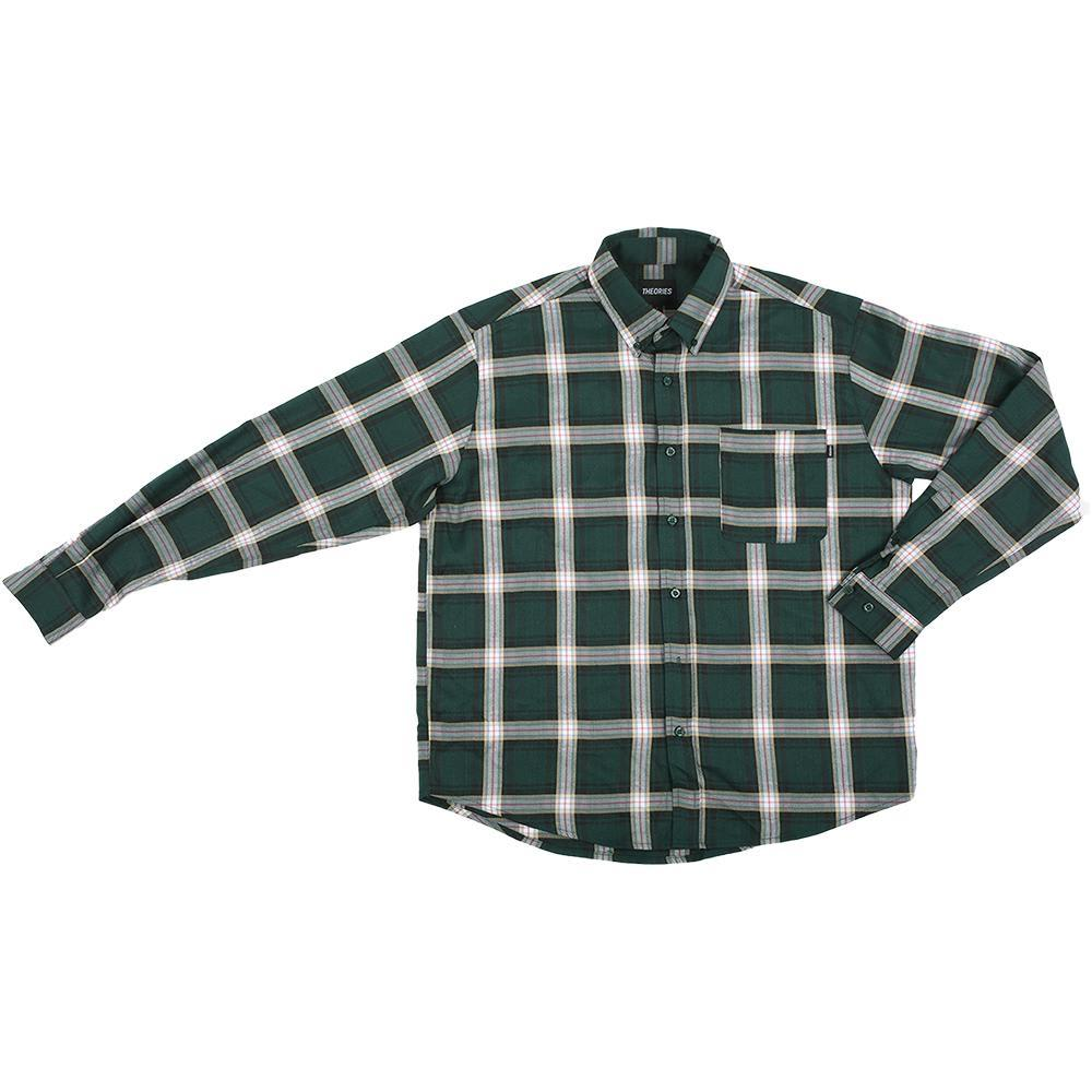 Theories Brand- Tartan Flannel Forest | Shirt by Theories of Atlantis 1