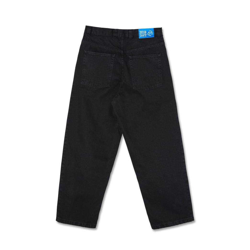 Polar Skate Co Big Boy Jeans - Pitch Black   Jeans by Polar Skate Co 2