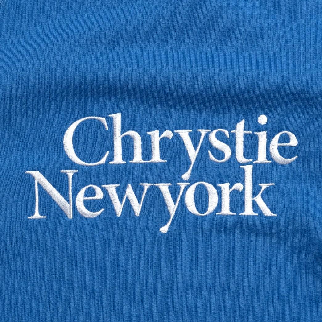 Chrystie Big Classic Logo Crewnecks_Lavender | Sweatshirt by Chrystie NYC 3