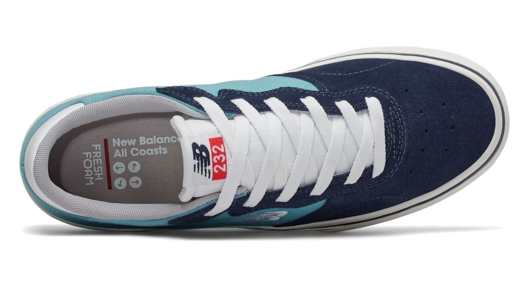 New Balance Numeric All Coasts AM232 Skate Shoes - Navy / Blue | Shoes by New Balance 3