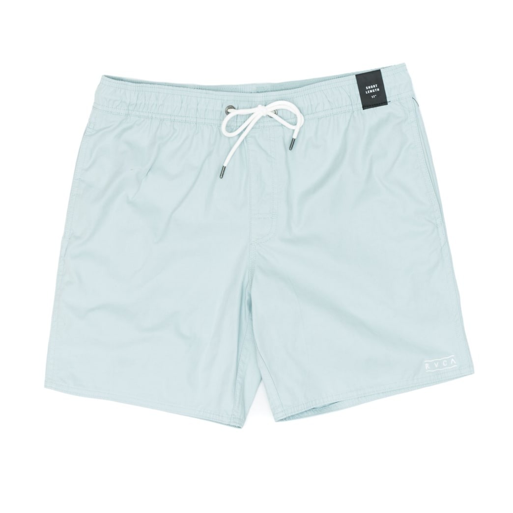 RVCA Gerrard Elastic Trunk Shorts - Blue Haze | Shorts by RVCA 1