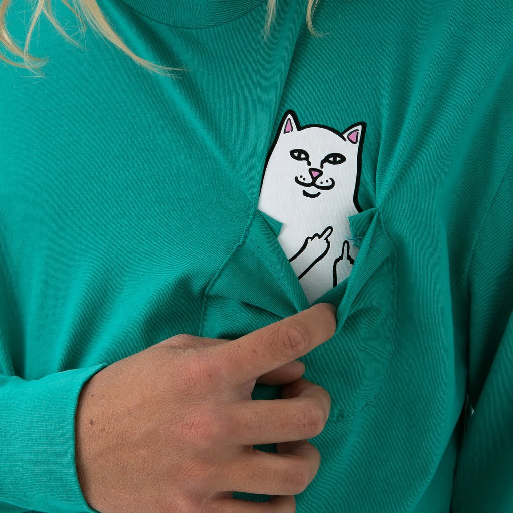 RipnDip Lord Nermal Pocket Tee Long Sleeve | Longsleeve by Ripndip 4