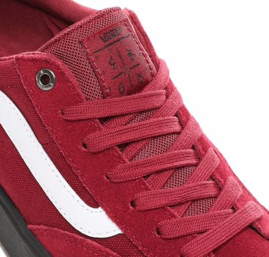 Vans Berle Pro Skateboarding Shoes - Rumba Red | Shoes by Vans 3
