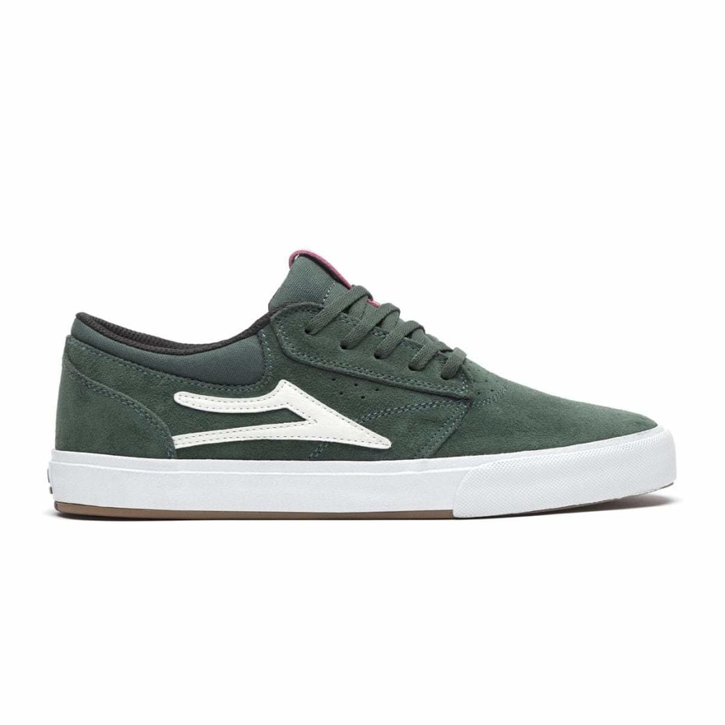 Lakai Griffin VLK Suede Skate Shoe - Pine | Shoes by Lakai 1