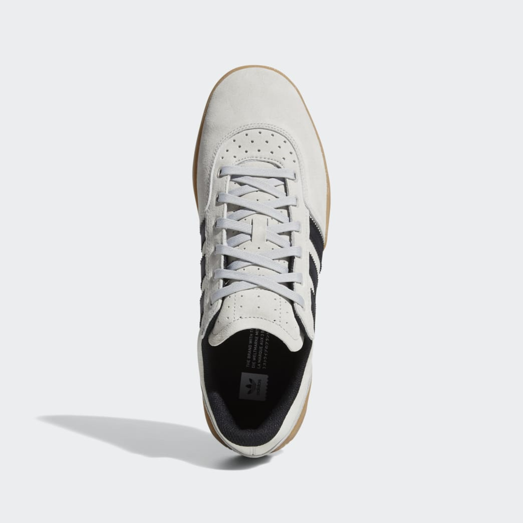 Adidas City Cup Shoes - Grey 2/Core Black/Gum 4 | Shoes by adidas Skateboarding 2