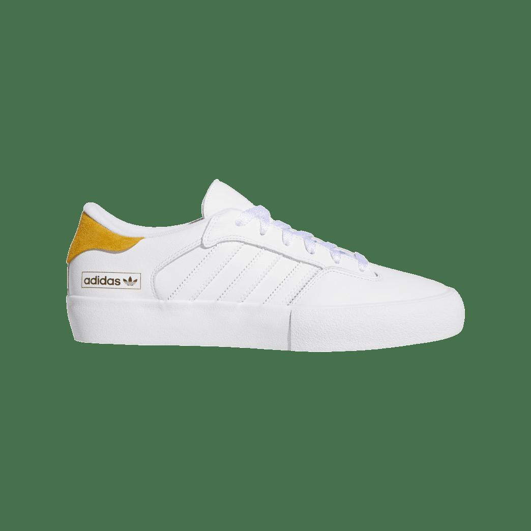 adidas Matchbreak Super Skate Shoes - FTWR White / Tactile Yellow / FTWR White | Shoes by adidas Skateboarding 1