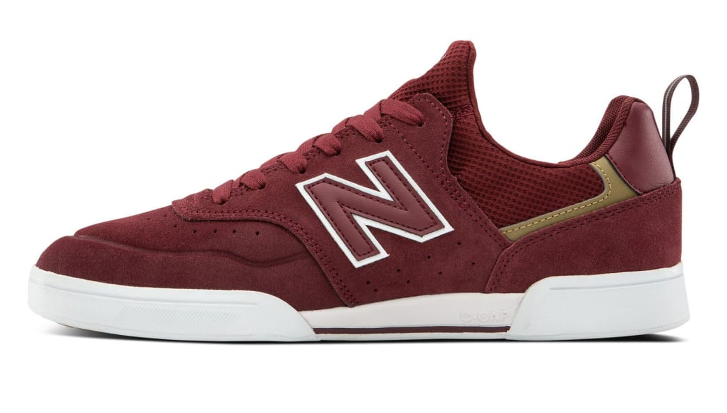 New Balance Numeric 288 Sport Skate Shoes - Burgundy / Grey | Shoes by New Balance 2