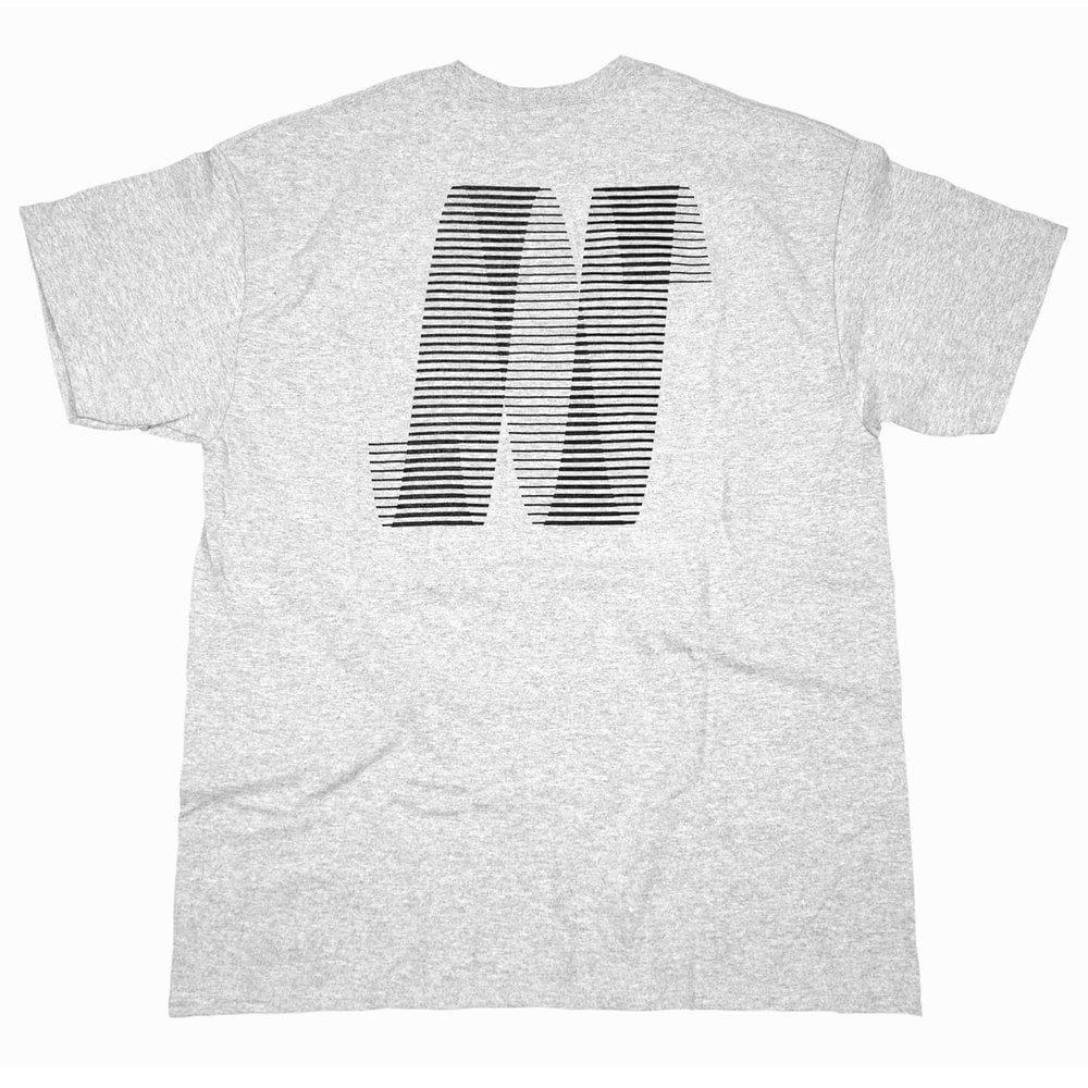 North N Logo T-shirt - Grey/Black | T-Shirt by North Magazine 1