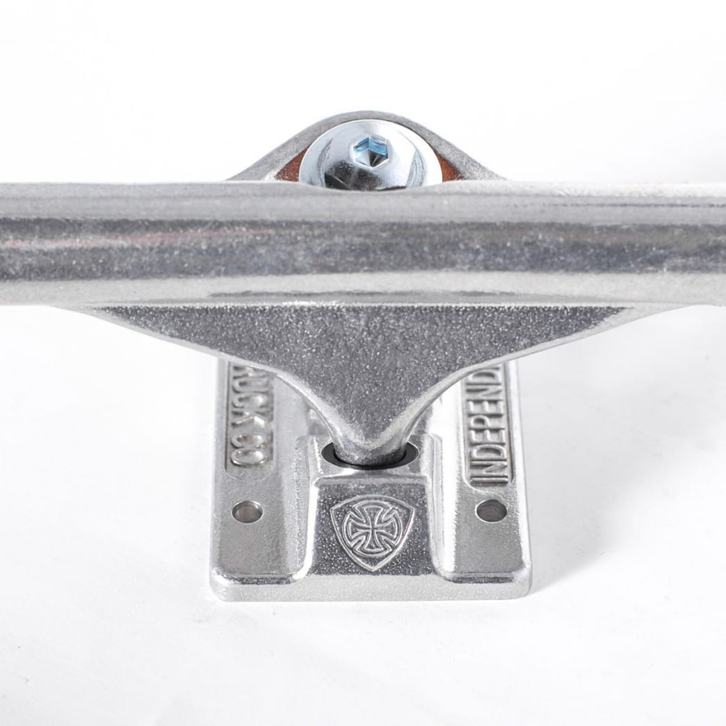 Independent Mid Truck - polished silver set (144) | Deck by Independent Trucks 2