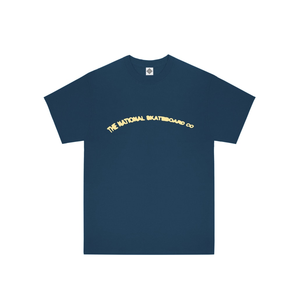 The National Skateboard Co There Is Life T-Shirt - Harbour Blue | T-Shirt by The National Skateboard Co. 2