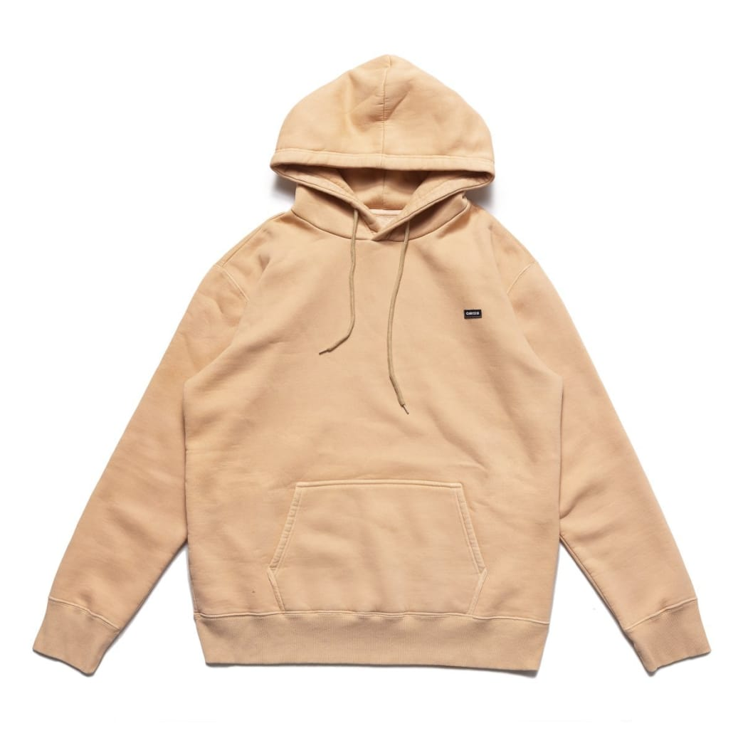 Chrystie NYC Small OG Patch Logo Hoodie - Peach | Hoodie by Chrystie NYC 1