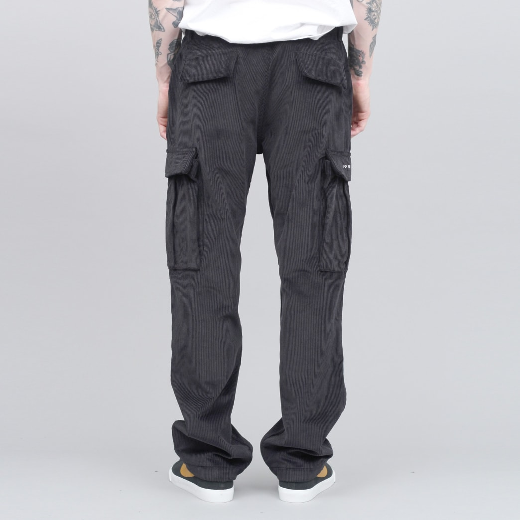 Pop Trading Cargo Pants Black Cord   Jeans by Pop Trading Company 2