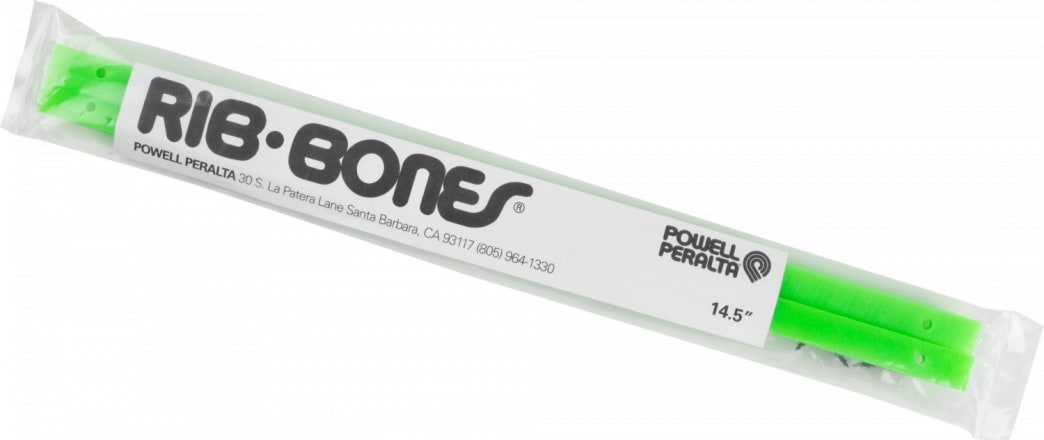 "POWELL PERALTA ""Rib Bones"" 14.5"" Rails (Lime Green) 