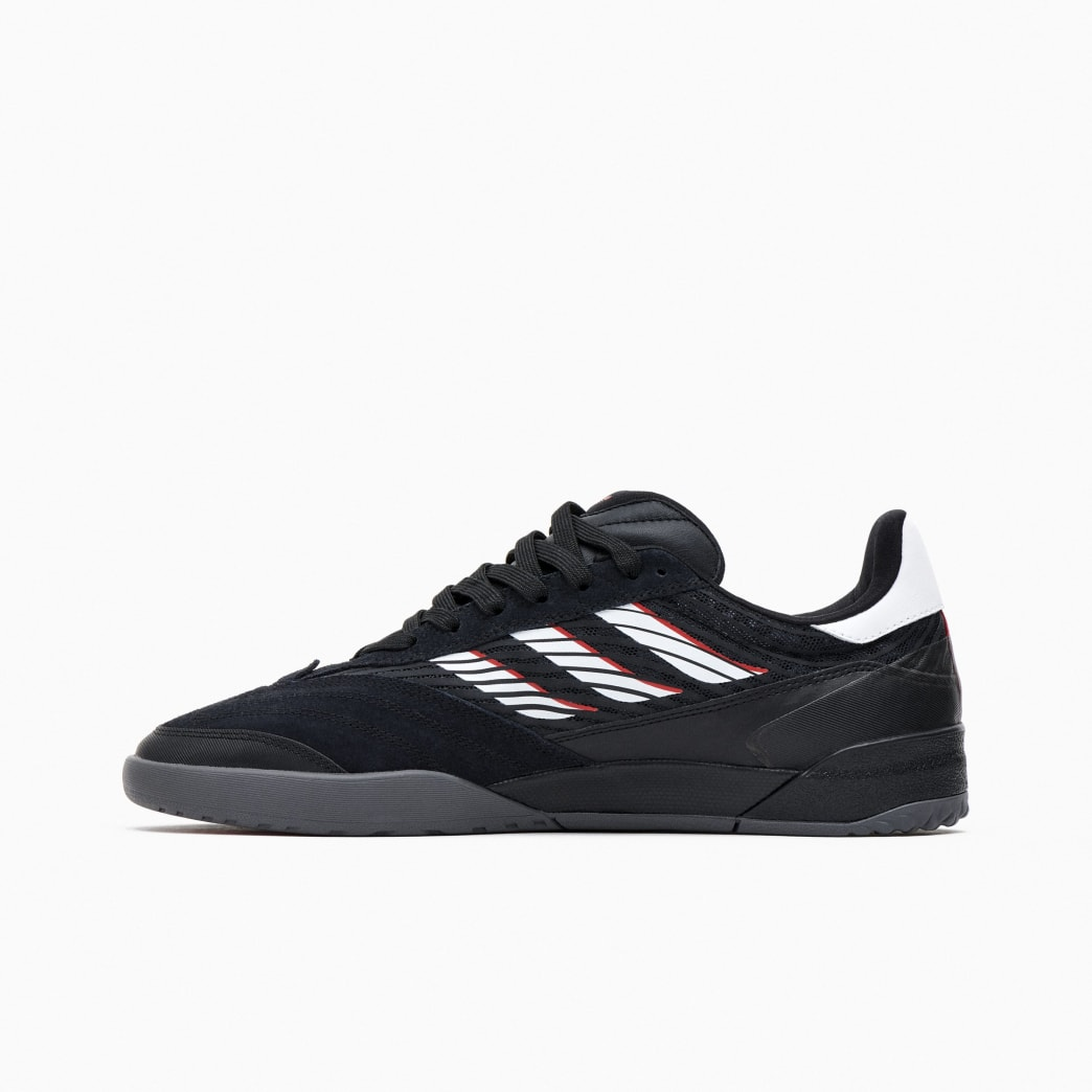 Adidas Copa Nationale Skate Shoe - Core Black / FTWR White / Scarlet | Shoes by adidas Skateboarding 4