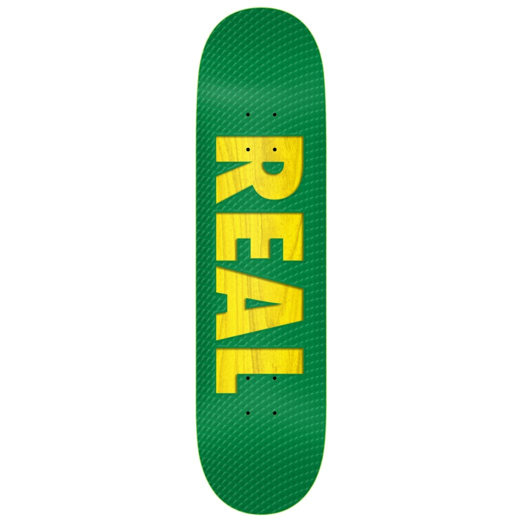 Real Team Bold Series Green Deck 8.38 | Deck by Real Skateboards 1