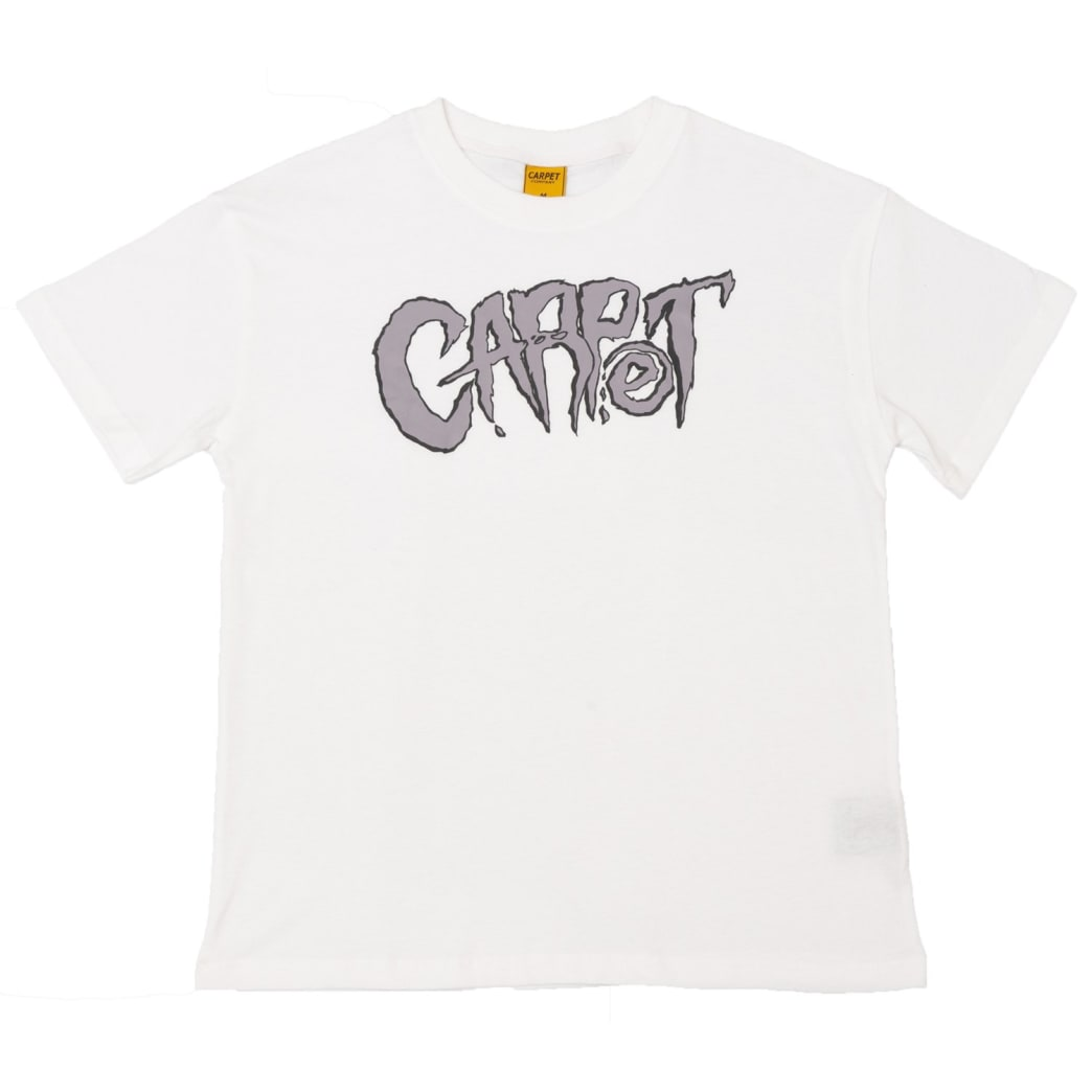 Carpet Company Metal Tee White | T-Shirt by Carpet Company 1