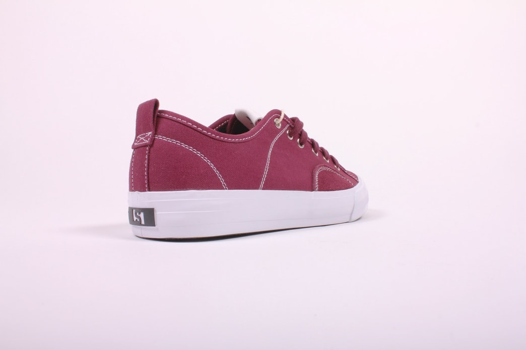 State Harlem x Politic Black Cherry Canvas/Suede | Shoes by State Footwear 3