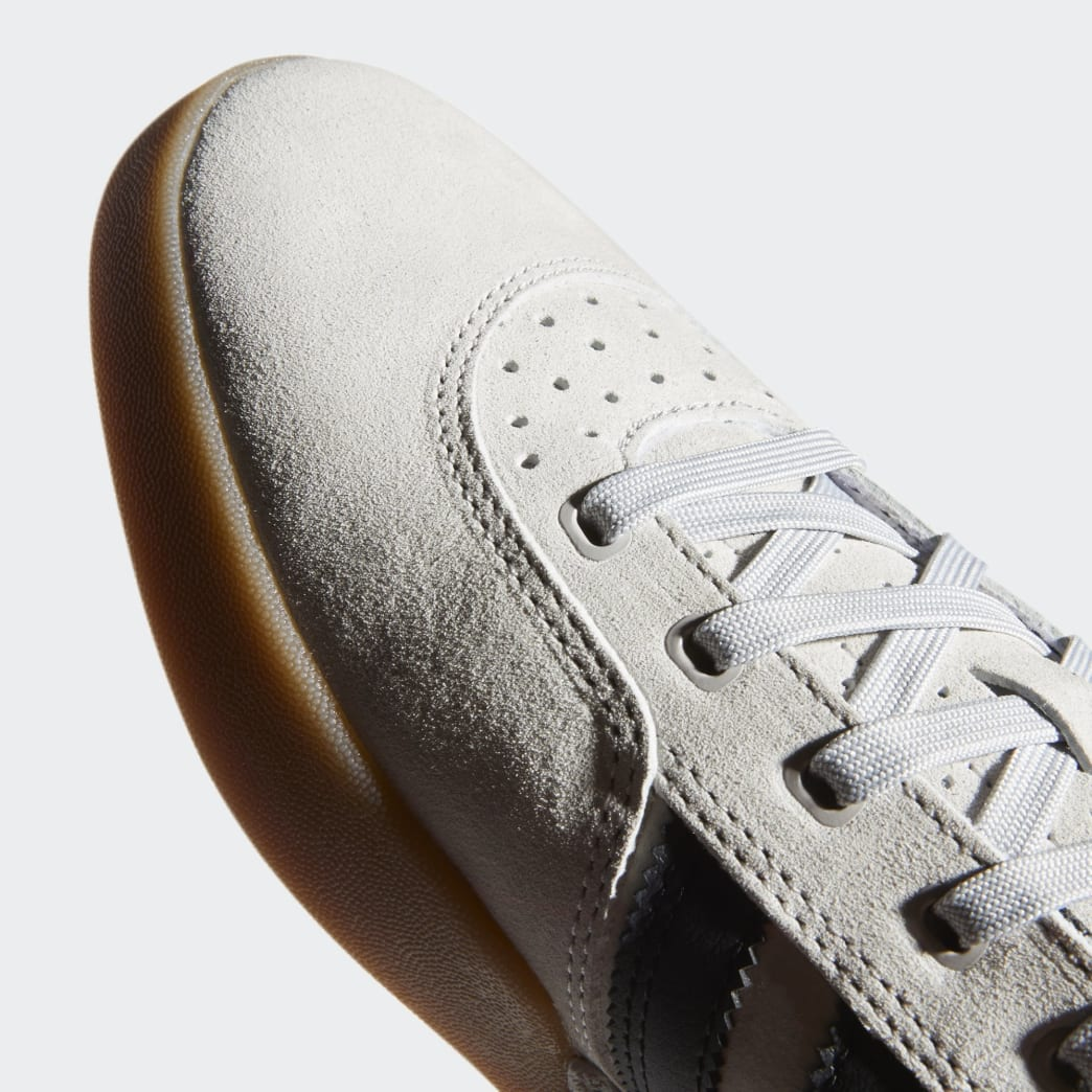 Adidas City Cup Shoes - Grey 2/Core Black/Gum 4 | Shoes by adidas Skateboarding 9