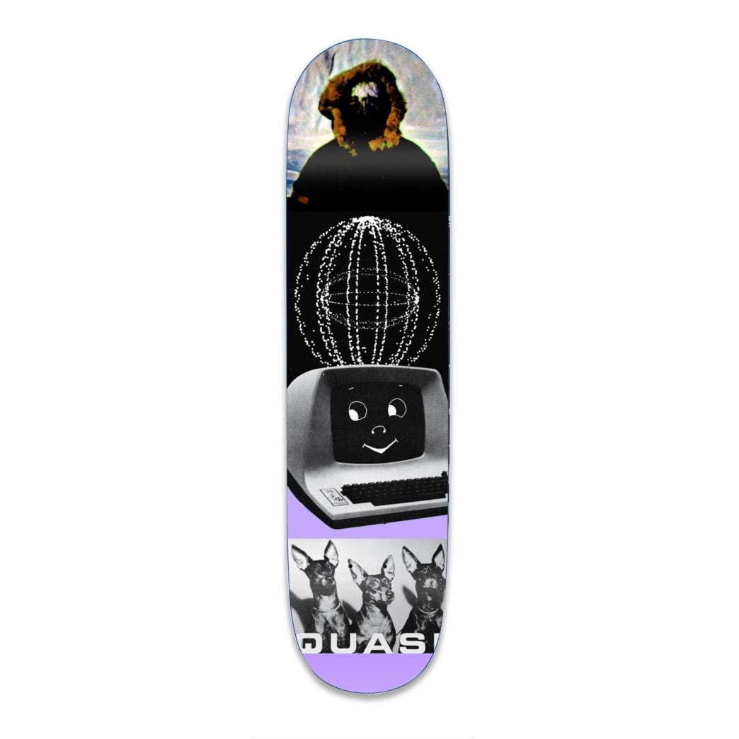 "Quasi Kraftwerk Two Skateboard Deck - 8.75"" | Deck by Quasi Skateboards 1"