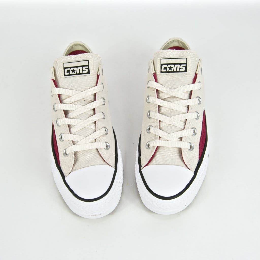 Converse Cons - CTAS Pro OP OX Shoes - Natural Ivory / Black / White | Shoes by Converse Cons 4