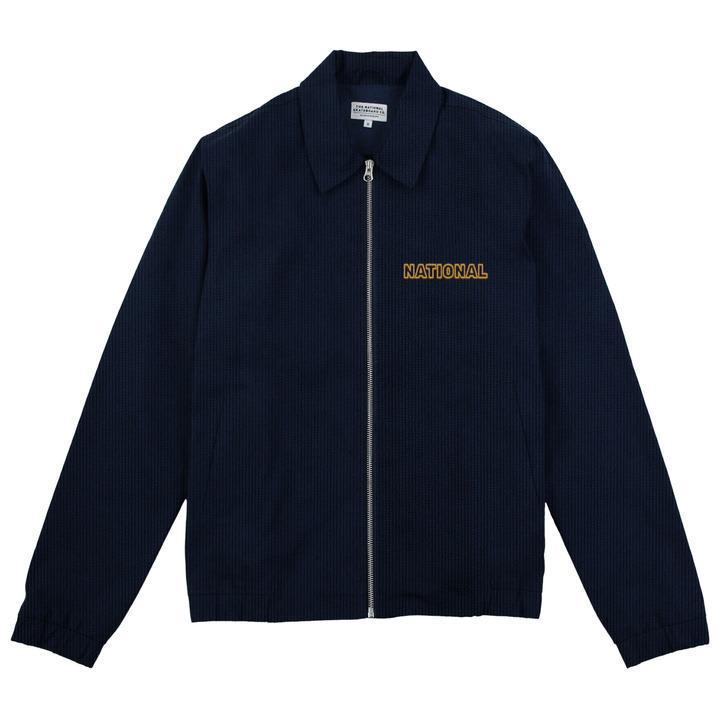 The National Skateboard Co. Corduroy Harrington Jacket - Navy | Jacket by The National Skateboard Co. 1
