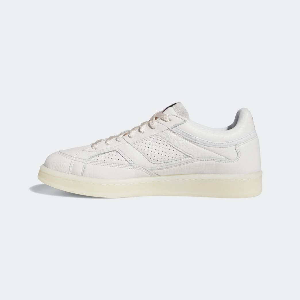 adidas Skateboarding FA Experiment 2 Shoes - Crystal White / Chalk White / Gold Metallic | Shoes by adidas Skateboarding 4
