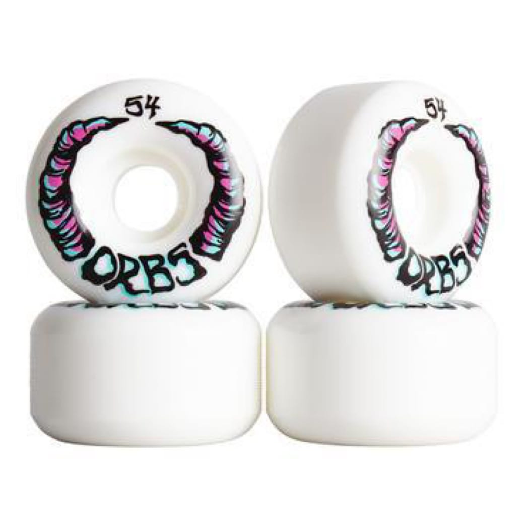 Orbs - Apparitions - White | Wheels by Welcome Skateboards 2