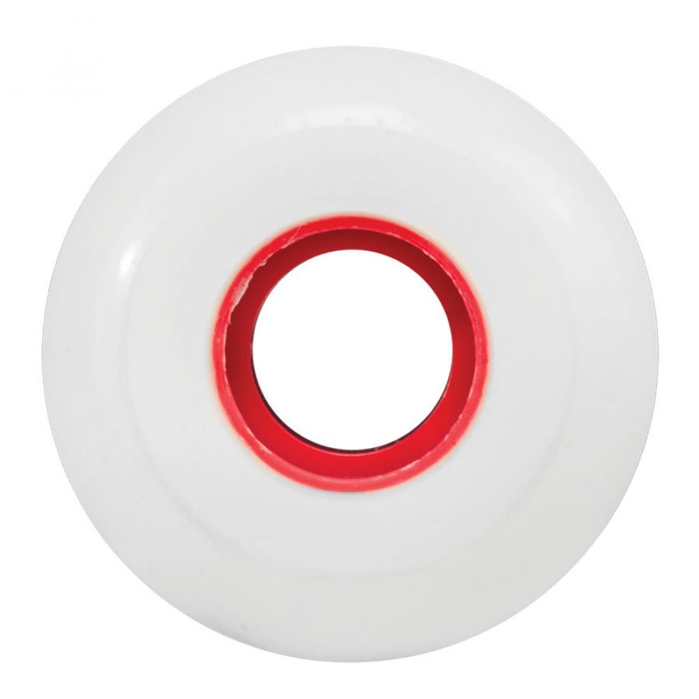 "Ricta ""Clouds"" Wheels 86A White/Red 53mm 