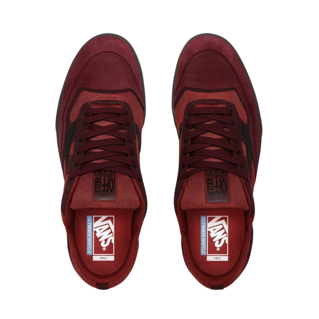 Vans AVE Pro Skate Shoes - Port Royale / Rosewood | Shoes by Vans 2
