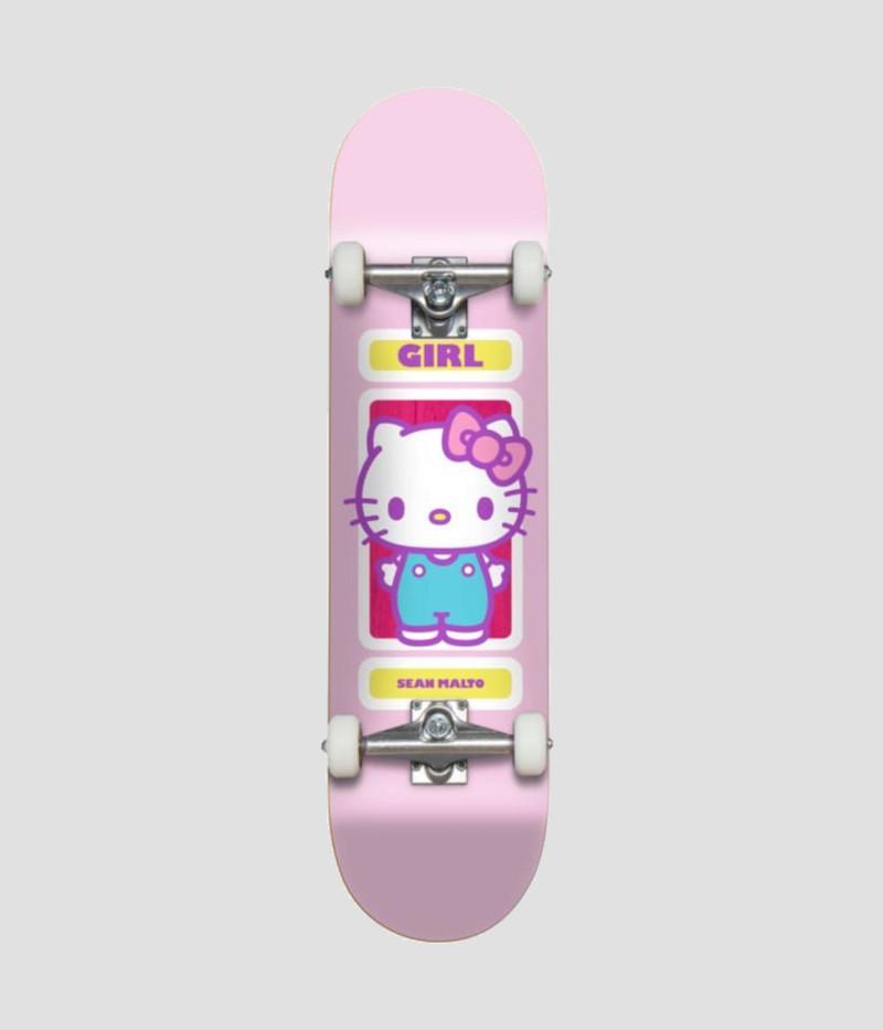 "Girl Skateboards Sanrio 60th Sean Malto Complete 8"" | Complete Skateboard by Girl Skateboards 1"