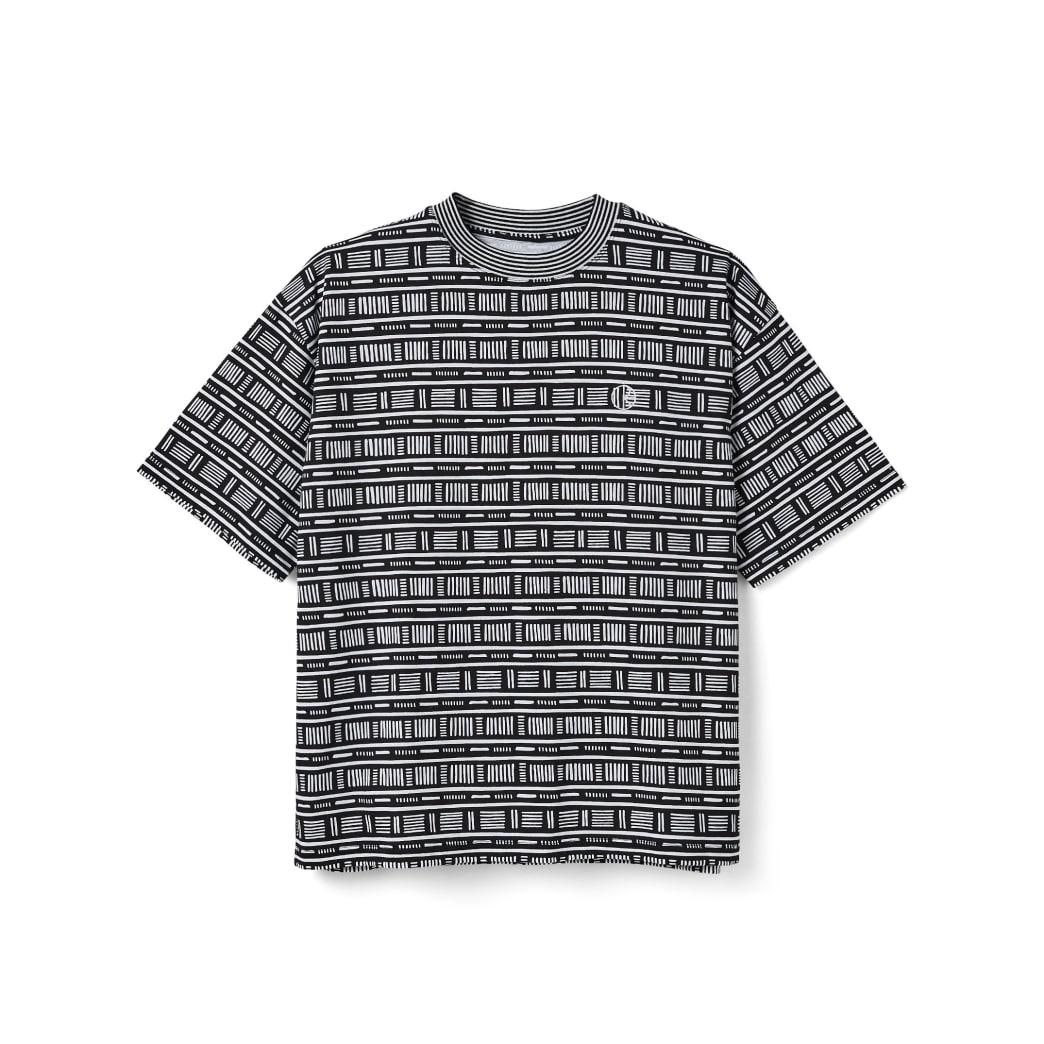 Polar Skate Co Stripe Surf T-Shirt - Black | T-Shirt by Polar Skate Co 1
