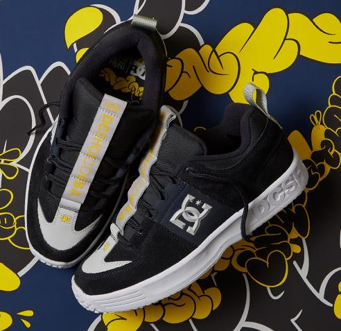 DC Shoes Lynx OG x In4mation - Dark Navy | Shoes by DC Shoes 7