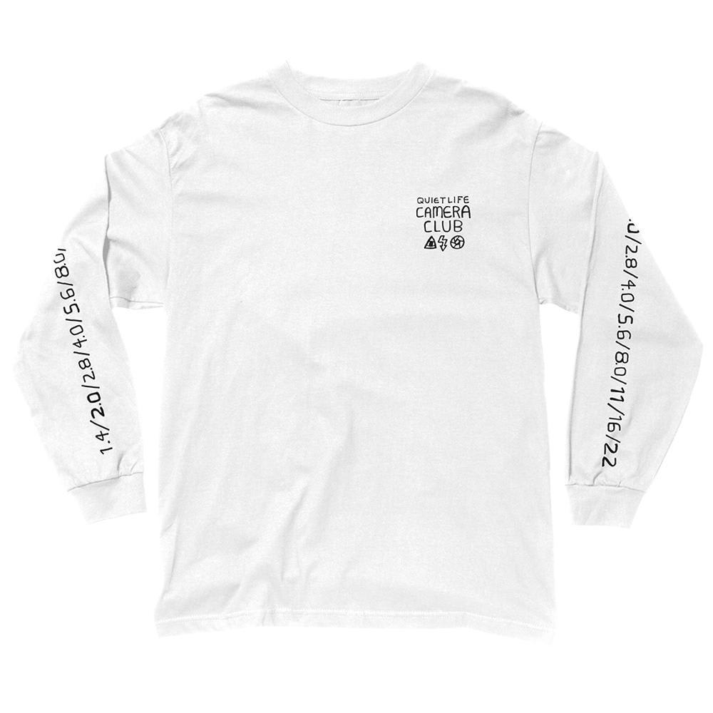 The Quiet Life F-Stop Long Sleeve Tee - White | T-Shirt by The Quiet Life 2