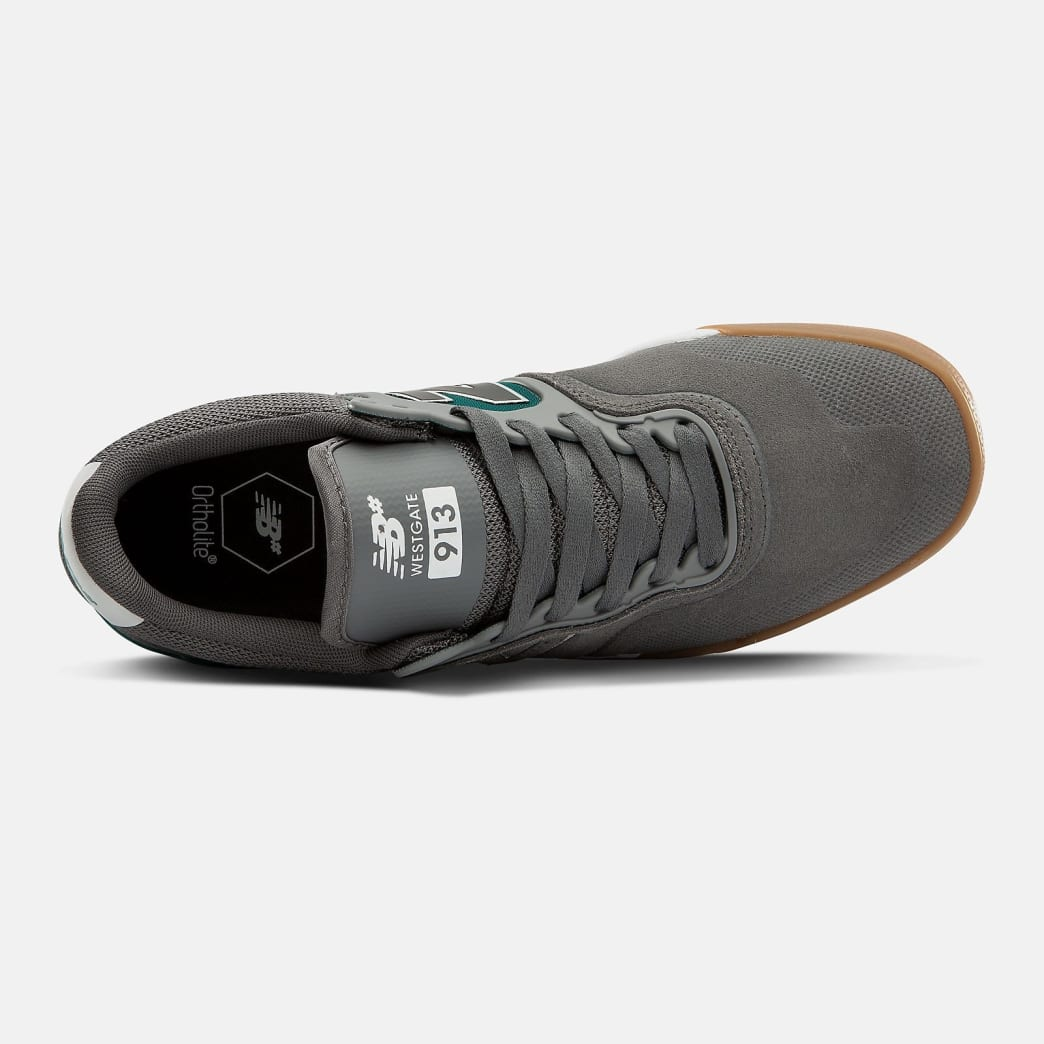 New Balance Numeric 913 Shoes - Castlerock / White   Shoes by New Balance 2