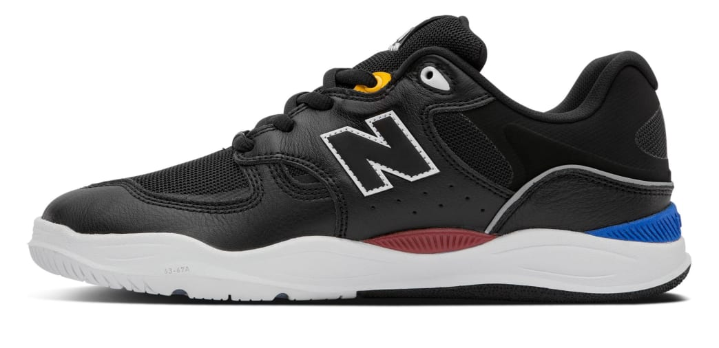 New Balance Numeric Tiago 1010 Skate Shoes - Black Leather | Shoes by New Balance 2