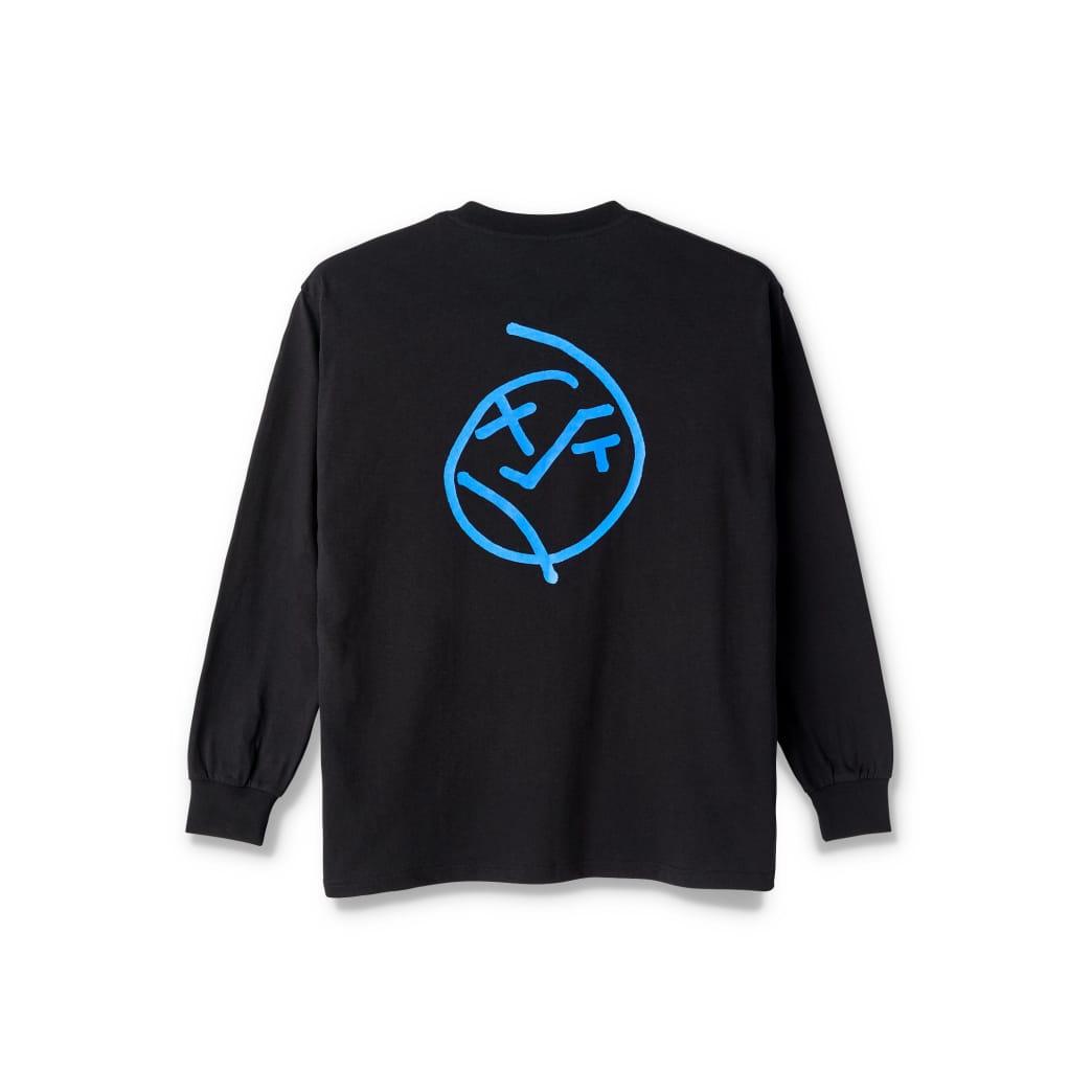 Polar Skate Co Big Boy Long Sleeve T-Shirt - Black | Longsleeve by Polar Skate Co 1