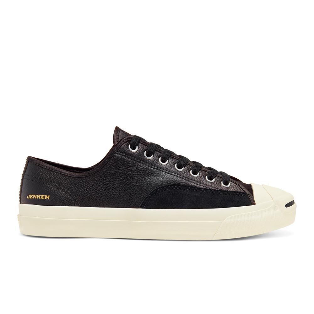 Converse Cons Jenkem Jack Purcell Pro OX Skateboard Shoes - Black/Egret/Black | Shoes by Converse Cons 1