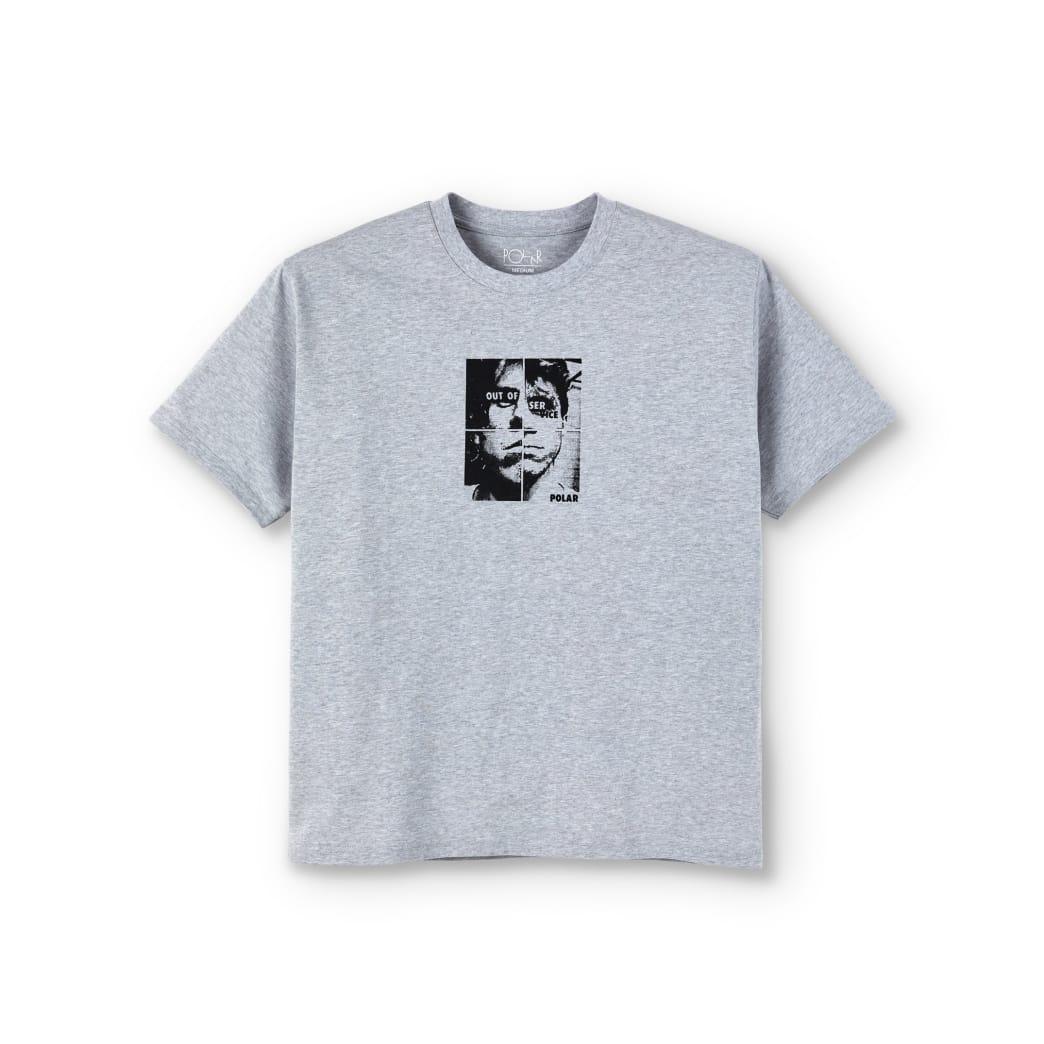Polar Skate Co Out Of Service T-Shirt - Grey | T-Shirt by Polar Skate Co 1