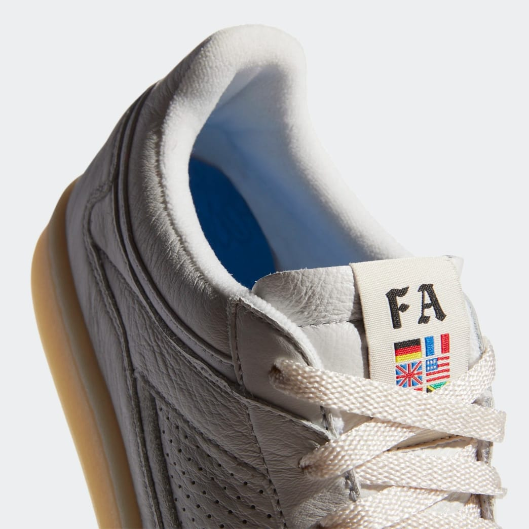 adidas Skateboarding FA Experiment 2 Shoes - Crystal White / Chalk White / Gold Metallic | Shoes by adidas Skateboarding 7