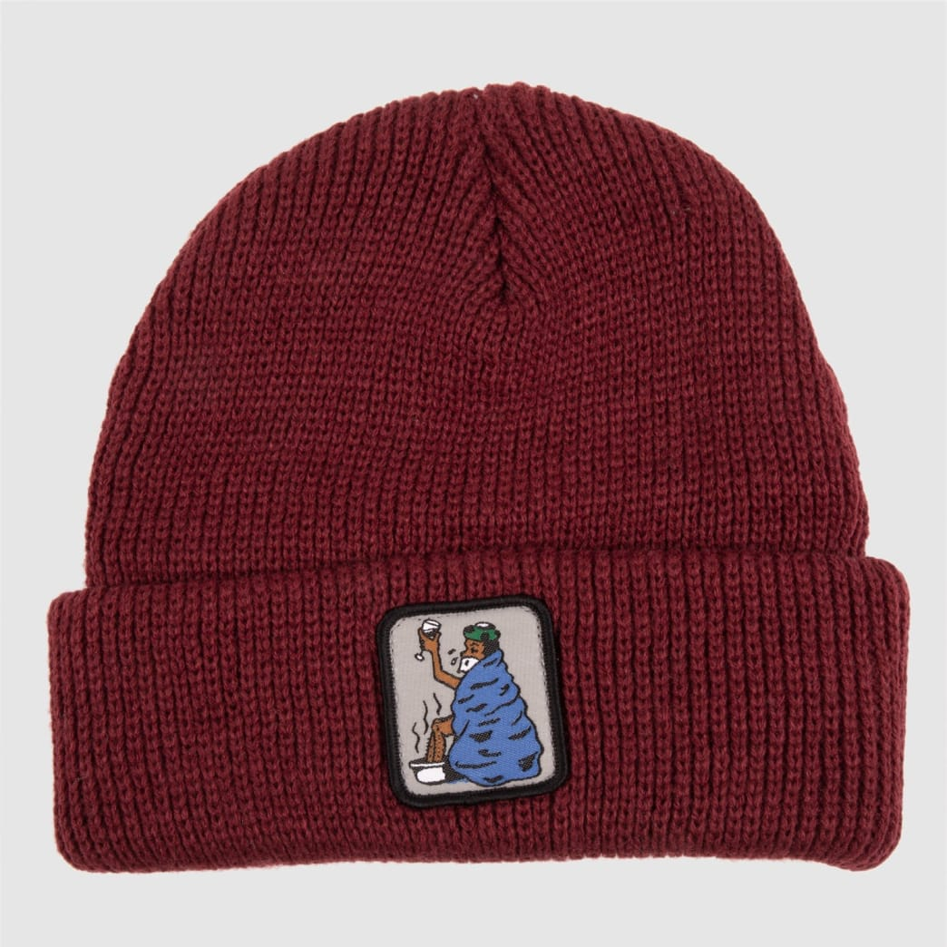 Pass~Port Cold Out Beanie - Burgundy   Beanie by Pass~Port Skateboards 1