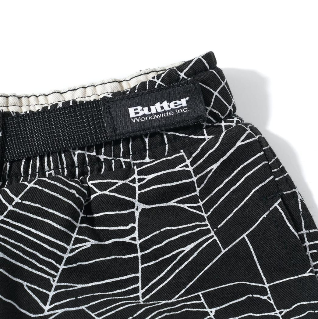 Butter Goods Web Pants - Black | Trousers by Butter Goods 4