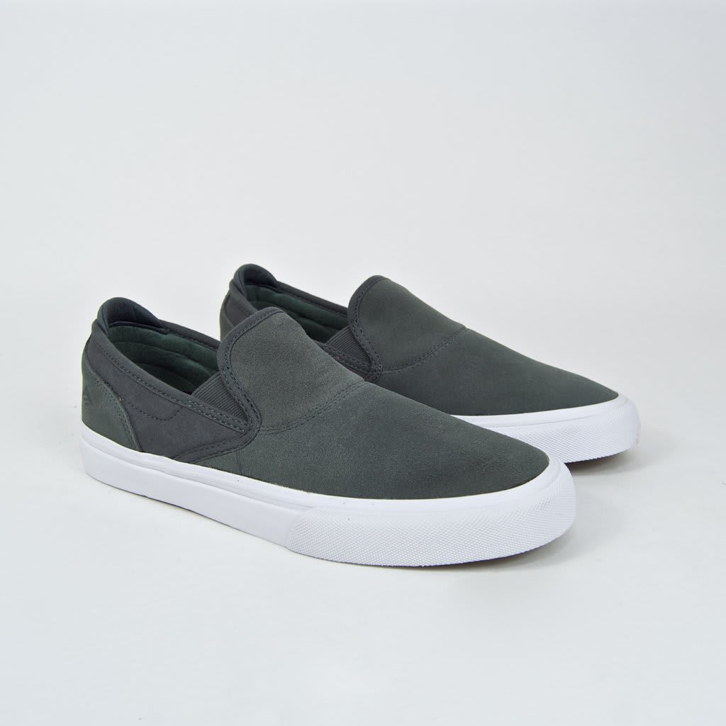 Emerica Wino G6 Slip-On Skate Shoes - Grey | Shoes by Emerica 2