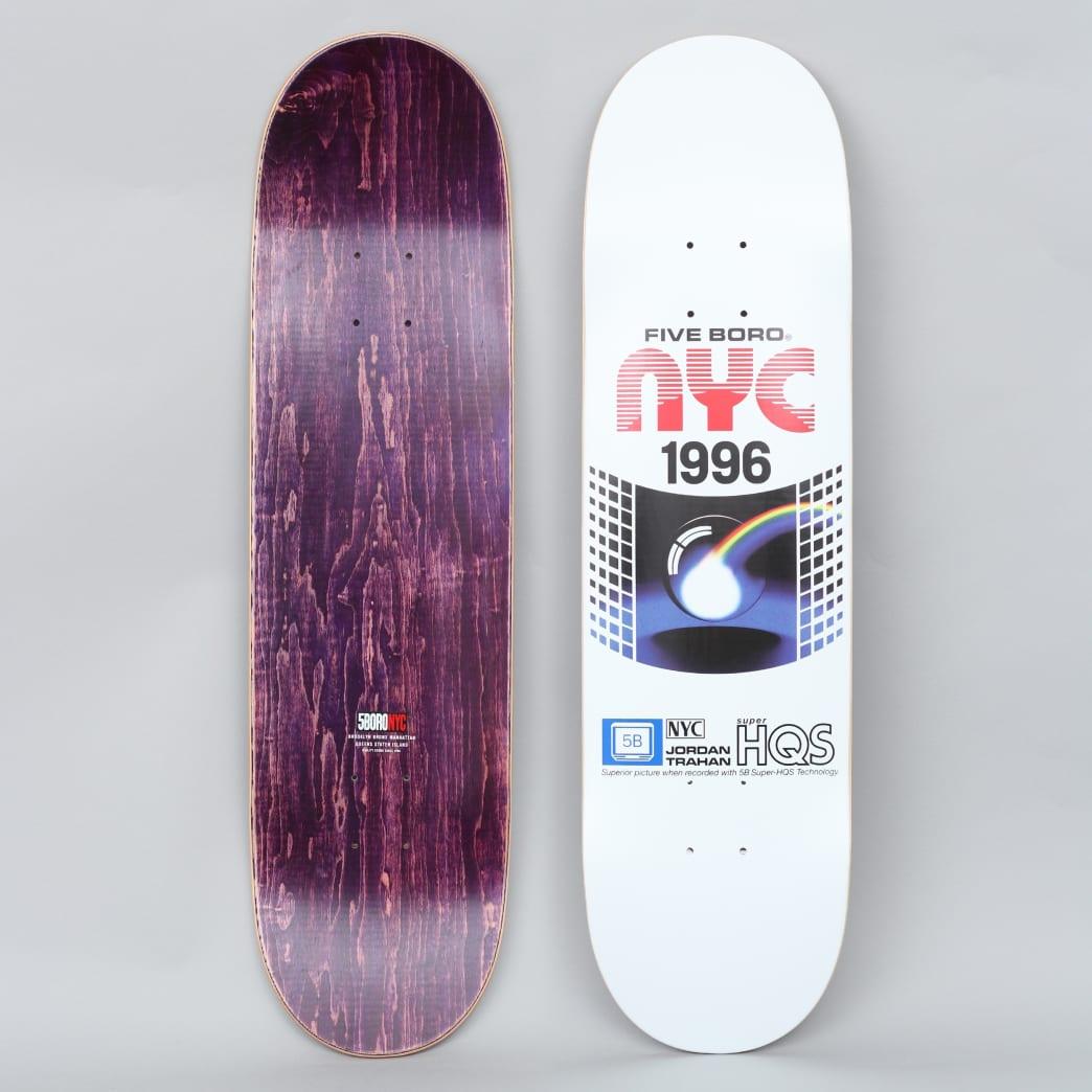 5Boro 8.25 VHS Series Jordan Trahan Pro Skateboard Deck | Deck by 5Boro NYC 1