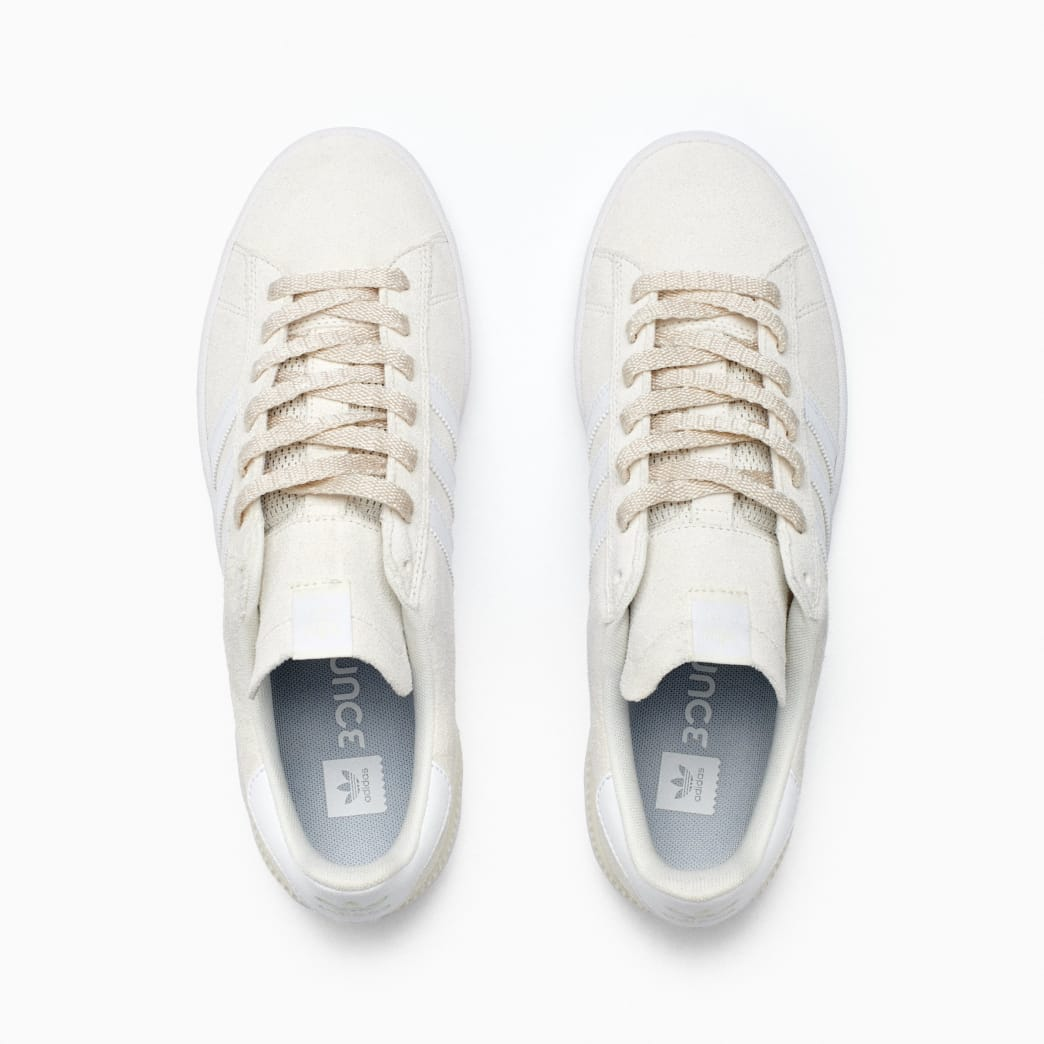 Adidas Campus ADV Skateboarding Shoes - Supplier Colour / FTWR White / Gold Met | Shoes by adidas Skateboarding 6