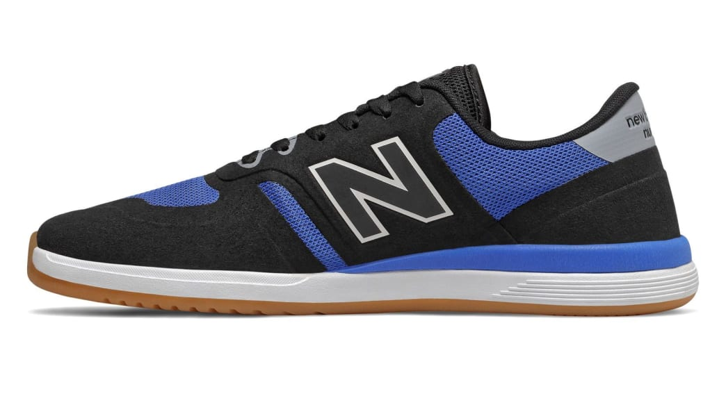 New Balance Numeric 420 Skate Shoe - Black / Blue | Shoes by New Balance 2