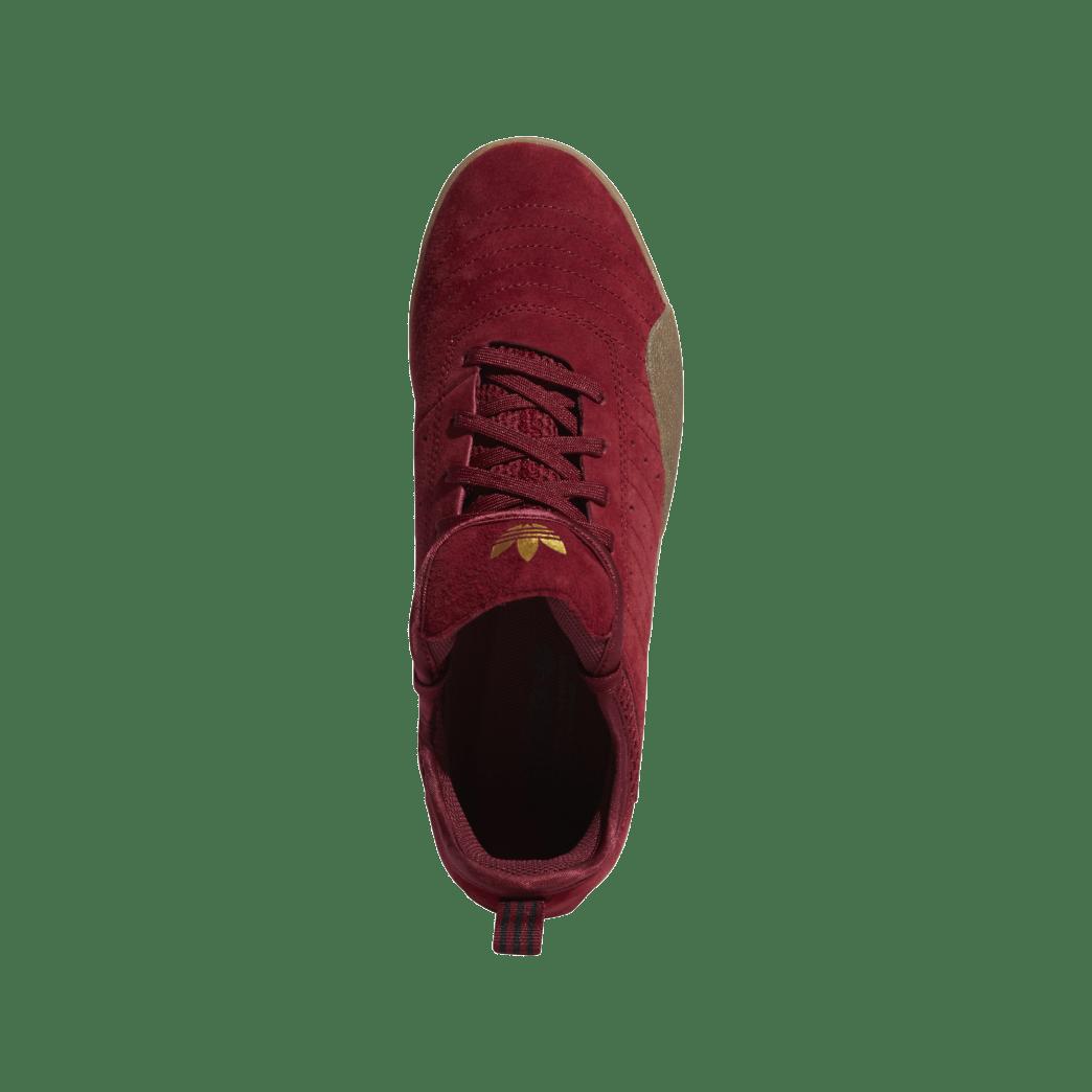 adidas 3ST.003 Skate Shoes - Collegiate Burgundy / Gum 4 / Gold Met | Shoes by adidas Skateboarding 2