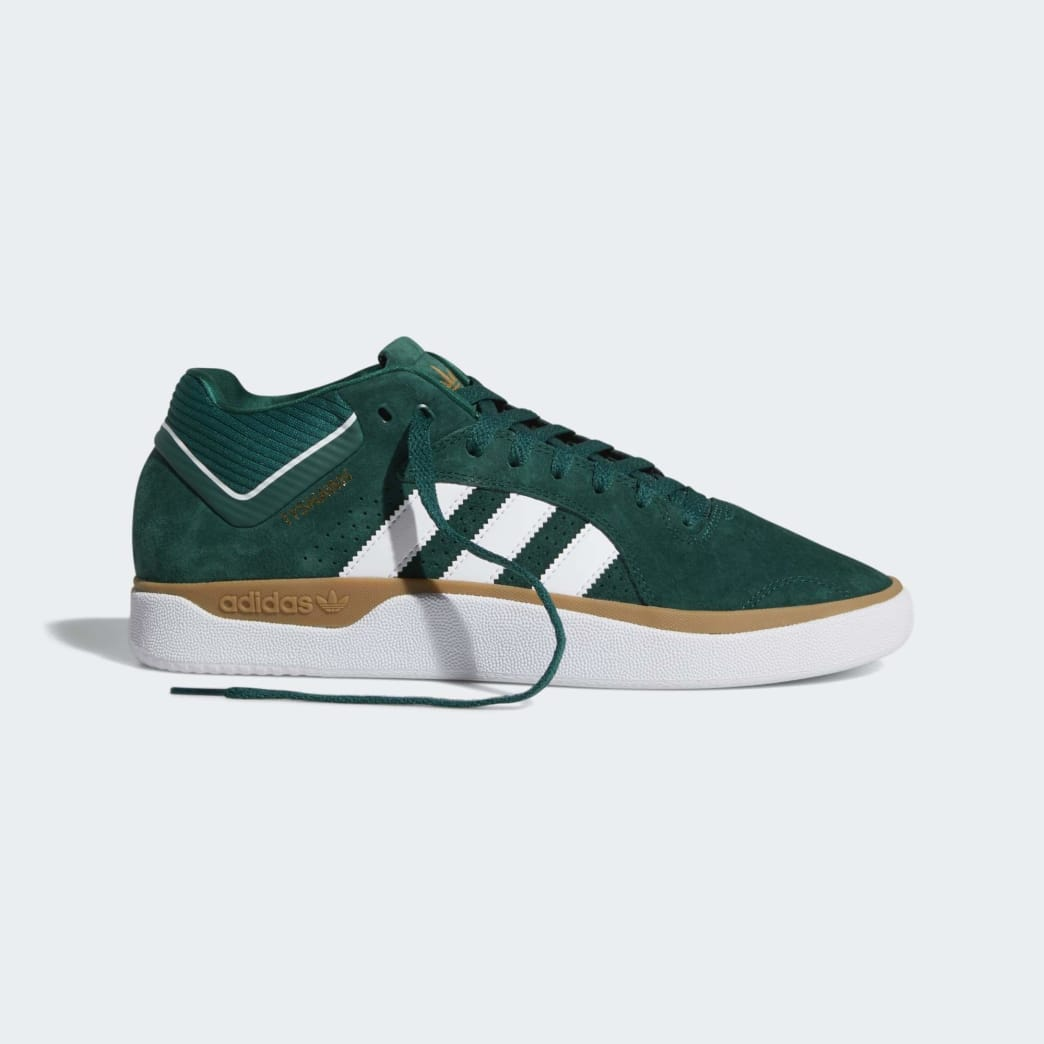 adidas Tyshawn Jones Shoes - Collegiate Green/Cloud White/Gum | Shoes by adidas Skateboarding 7