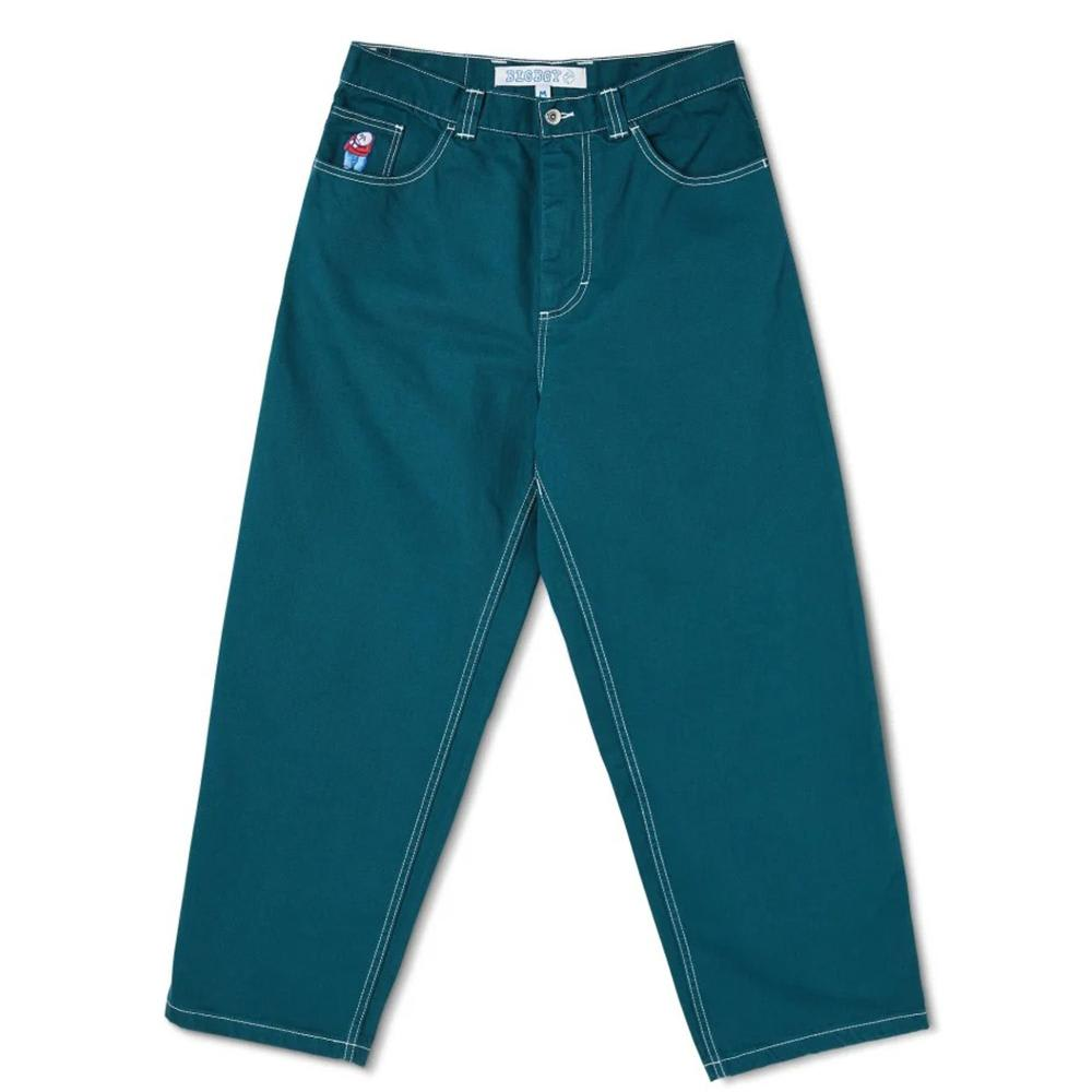 Polar Skate Co Big Boy Jeans - Green | Jeans by Polar Skate Co 1