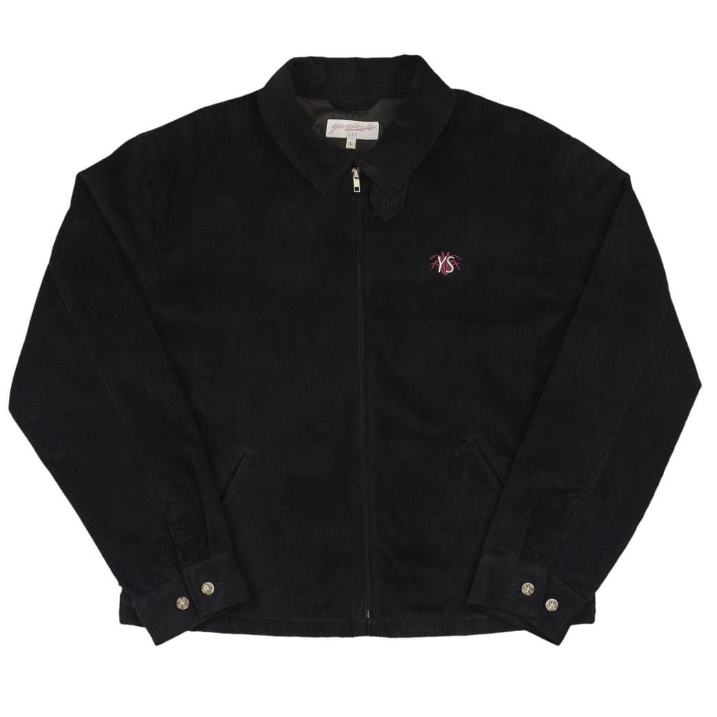 Yardsale YS Spider Corduroy Jacket - Black   Jacket by Yardsale 1